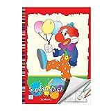 Herlitz 505404 Super-Malbuch A4, 128 Seiten