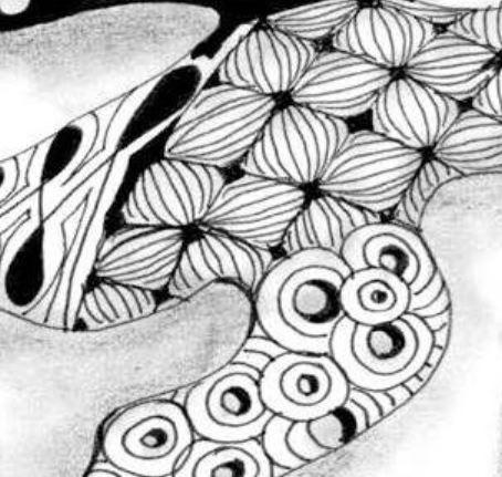 Zentangle Vorlagen und Muster