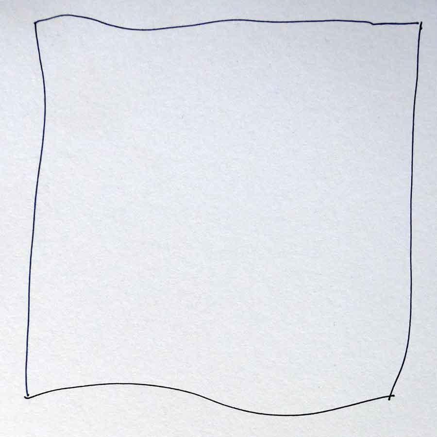 Schritt 1 Zentangle®-Anleitung