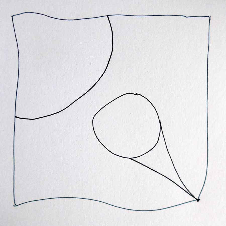 Schritt 2 Zentangle®-Anleitung