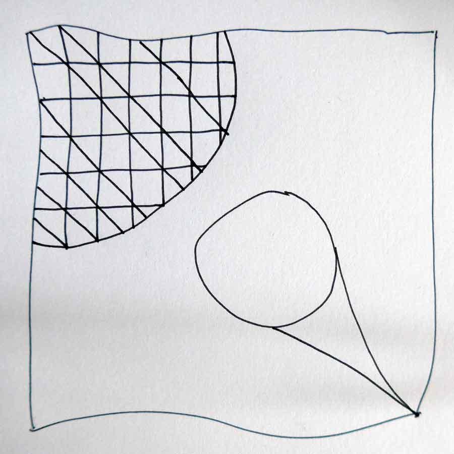 Schritt 4 Zentangle®-Anleitung