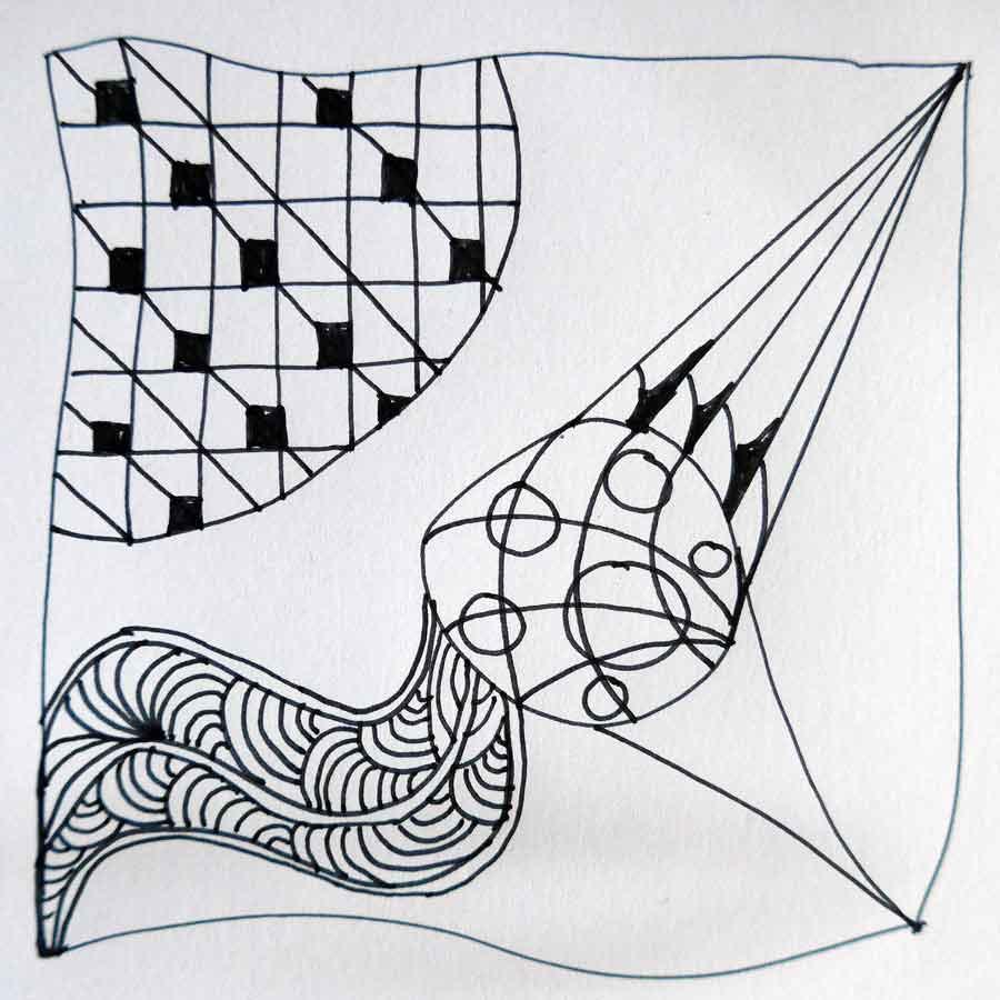 Schritt 8 Zentangle®-Anleitung