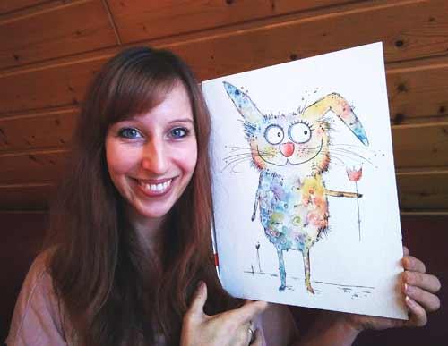 Zeichnen lernen mit Clarissa