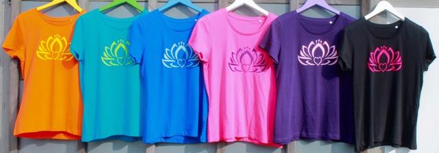 Yoga Shirts nachhaltig produziert 100% Bio-Baumwolle
